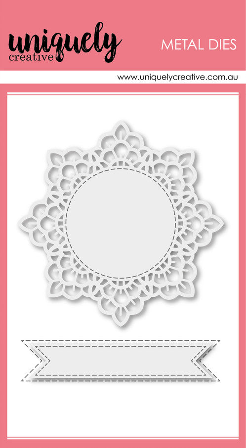 Uniquely Creative - Cutting Die - Lacey Doily Die (UCD1771)