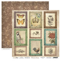 Scrap Boys - Flower Story - 12 x 12 Pattern Paper (Flst-06)