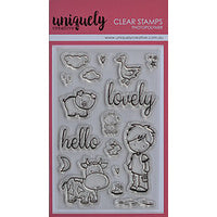 Uniquely Creative - Clear Stamp - Hello Lovely (UC1713)