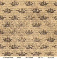 ScrapBoys - Industrial Romance - 12x12 Pattern Paper (Inro-06)
