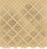 ScrapBoys - Industrial Romance - 12 x 12 Pattern Paper with Cut outs (Inro-07)