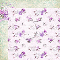 LemonCraft - My Sweet Provence 12 x 12 Scrapbook Paper - 04
