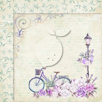 LemonCraft - My Sweet Provence 12 x 12 Scrapbook Paper - 06