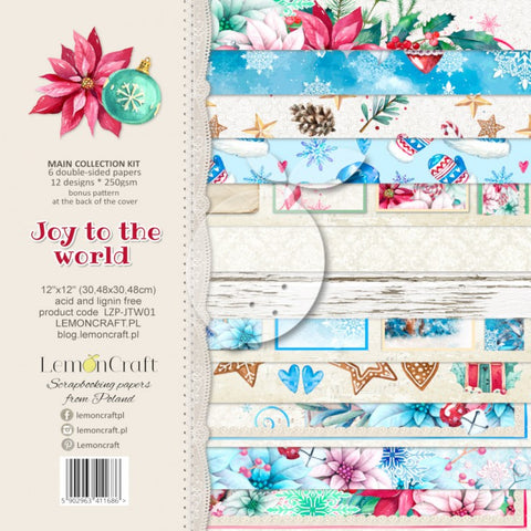 LemonCraft - Joy to the World 12 x12 Collection Kit