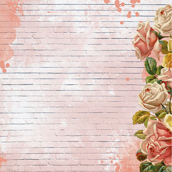 KAISERCRAFT - SCRAP STUDIO - 12X12 SCRAPBOOK PAPER - Splatter (P2639)