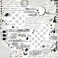KAISERCRAFT - SCRAP STUDIO - 12X12 Specialty Paper - Collage Gloss (PS544)
