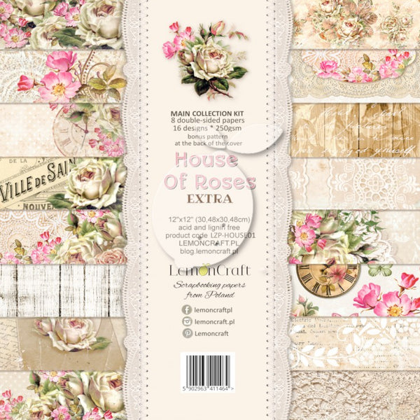 LemonCraft - House of Roses 12 x12 Collection Kit