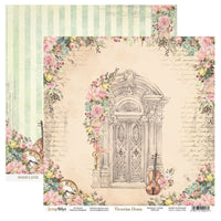 ScrapBoys - Victorian Home - 12x12 Pattern Paper (Viho-01)