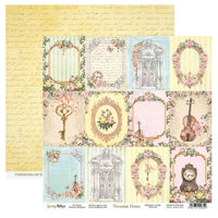 ScrapBoys - Victorian Home - 12x12 Pattern Paper (Viho-06)