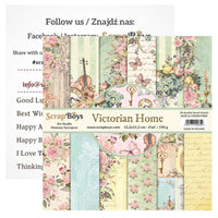 ScrapBoys - Victorian Home -  6x6 Paper Pack (Viho -09)