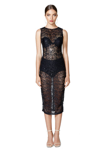 Vogue Lace Dress