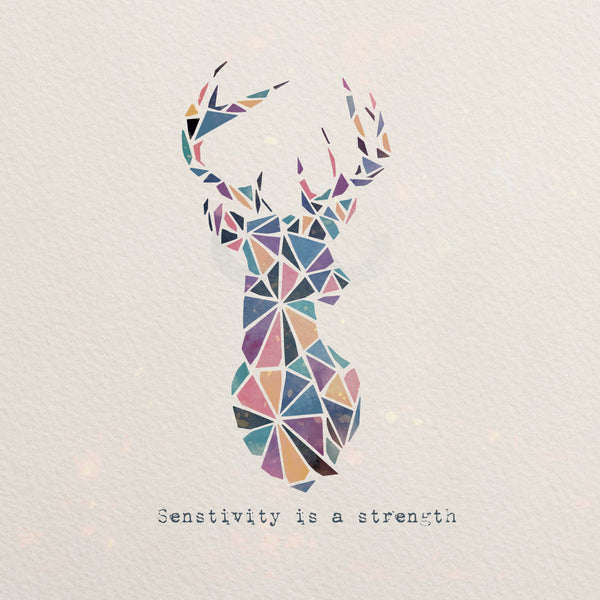 Deer Geometric Art Polygonal