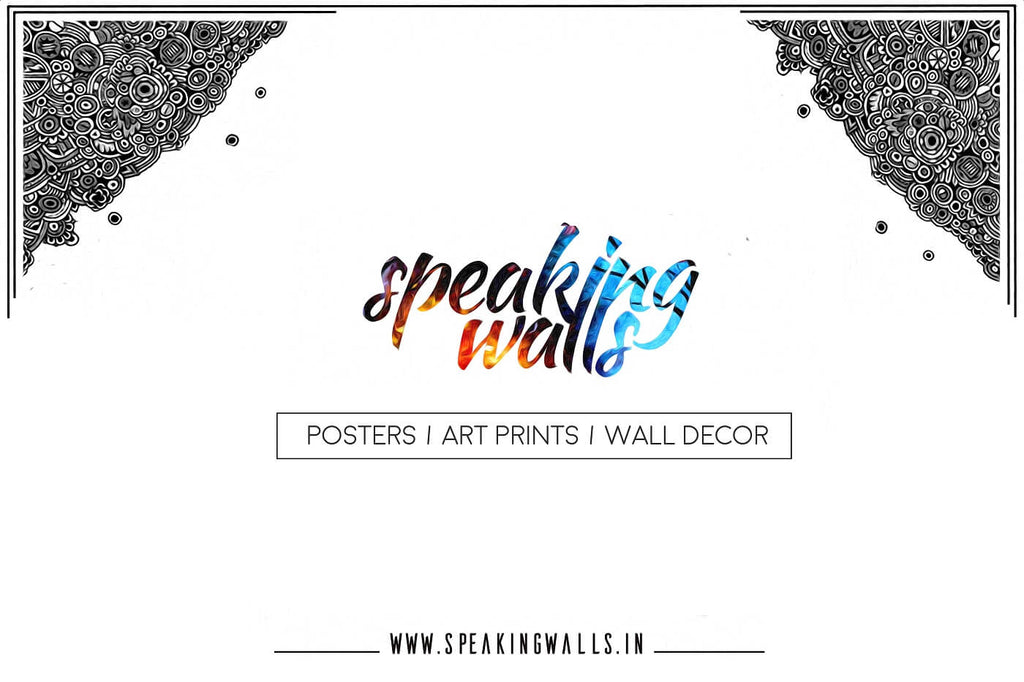 Speaking Walls cutomize wall decor welcome page