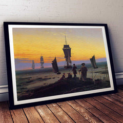 The Life Stages Caspar David Friedrich Painting