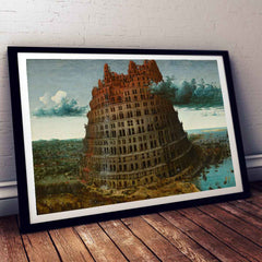 The Little Tower of Babel Pieter Bruegel Painting