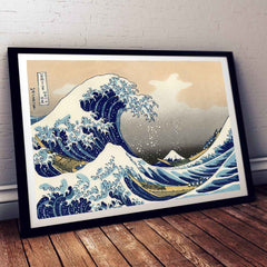 The Great Wave off Kanagawa Painting