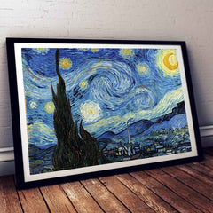 The Starry Night Vincent Van Gogh Painting