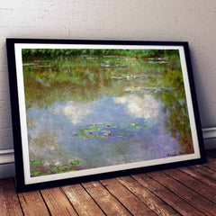 Water Lillies Claude Monet Painting