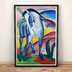 Blue Horse Marc Franz Painting
