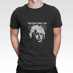 Einstein Geometric Art T Shirt