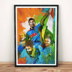 Indian Cricket Team Poster