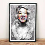 Rita Ora Art Canvas