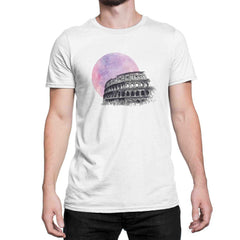 Colosseum Minimalist Art T Shirt