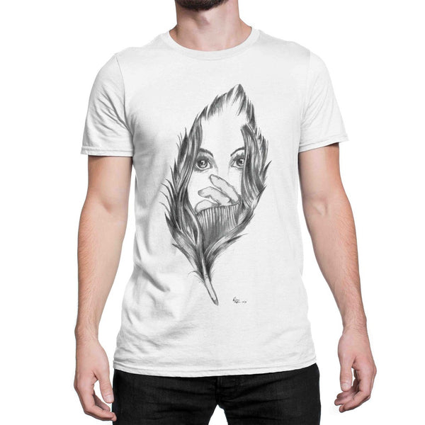 FEATHER TOUCH Art T Shirt