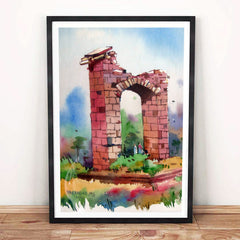 Abandoned Artwork Poster