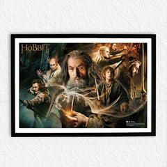 Hobbit The Warrior Poster