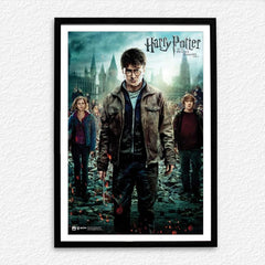 Harry Potter, Hermione Granger And Ron Weasley - Harry Potter and the Deathly Hallows