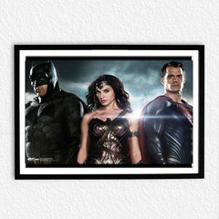 'Batman Vs Superman: Dawn of Justice' Batman, Wonder Woman And Superman