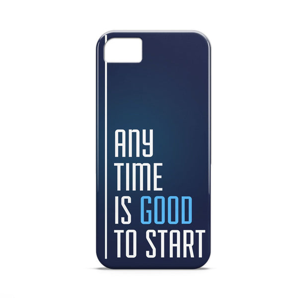 Case - Any Time Is Good To Start Case Micromax