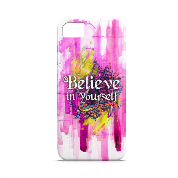 Case - Believe In Yourself  Typography Artwork Case Samsung