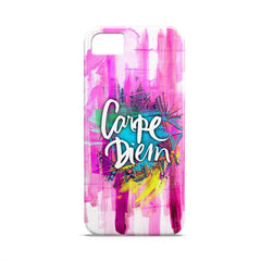 Case - Carpe Diem Typography Artwork Case Motorola