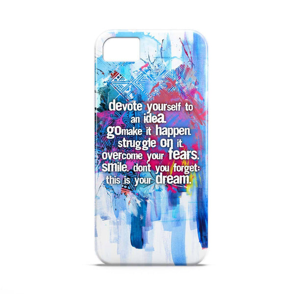 Case - Commit To An IdeaTypography Artwork Case Samsung