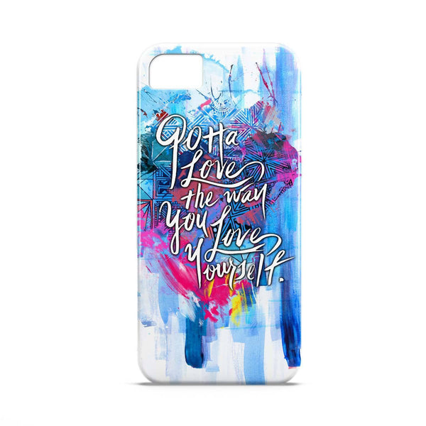 Case - Gotta Love The Way You Love YourselfTypography Artwork Case Micromax