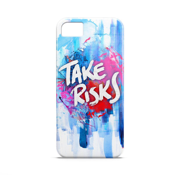 Case - Take Risks Typography Artwork Case Nokia