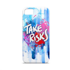 Case - Take Risks Typography Artwork Case One Plus