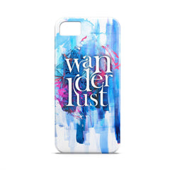 Case - Wanderlust Typography Artwork Case Motorola