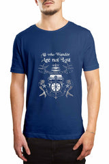 Men's Tee - All Those Who Wander Are Not Lost Tee