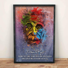 Poster - Albert Einstein Artwork