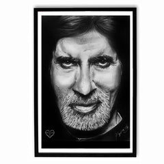 Poster - Amitabh Bachchan Sketch Work Poster