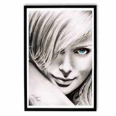 Poster - Charlize Theron Sketch Work Poster