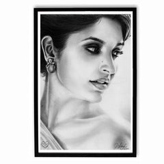 Poster - Parineeti Chopra Sketch Work Poster