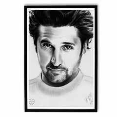 Poster - Patrick Dempsey Sketch Work Poster