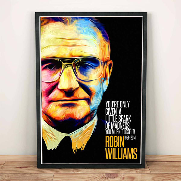 Poster - Robin Williams Artwork
