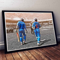 Poster - Sachin And Sehwag Artwork