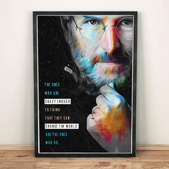 Poster - Steve Jobs Quotes Artwork