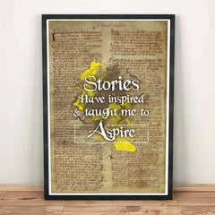 Poster - Stories Have Inspired Typography Art